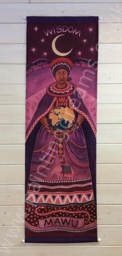 Mawu Fabric Wall Door Hanging Painting Dreams