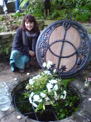 Chalice Well at Imbolc